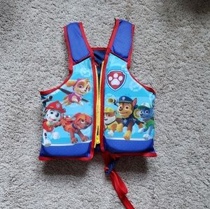 Paw Patrol life vest (with zipper and strap)